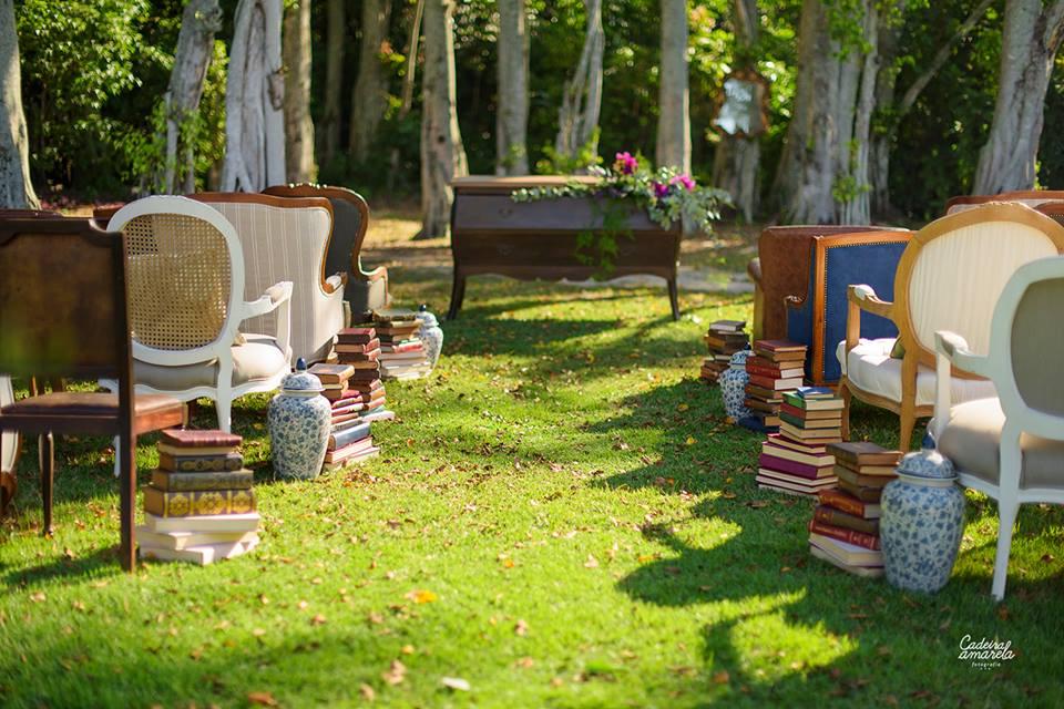 Foto: Cadeira Amarela Fotografia