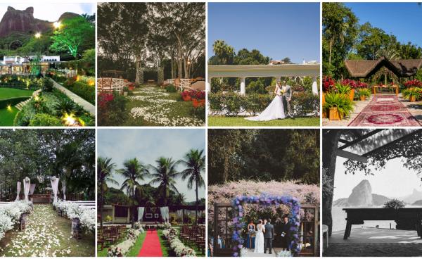 8 locais para casar ao ar livre