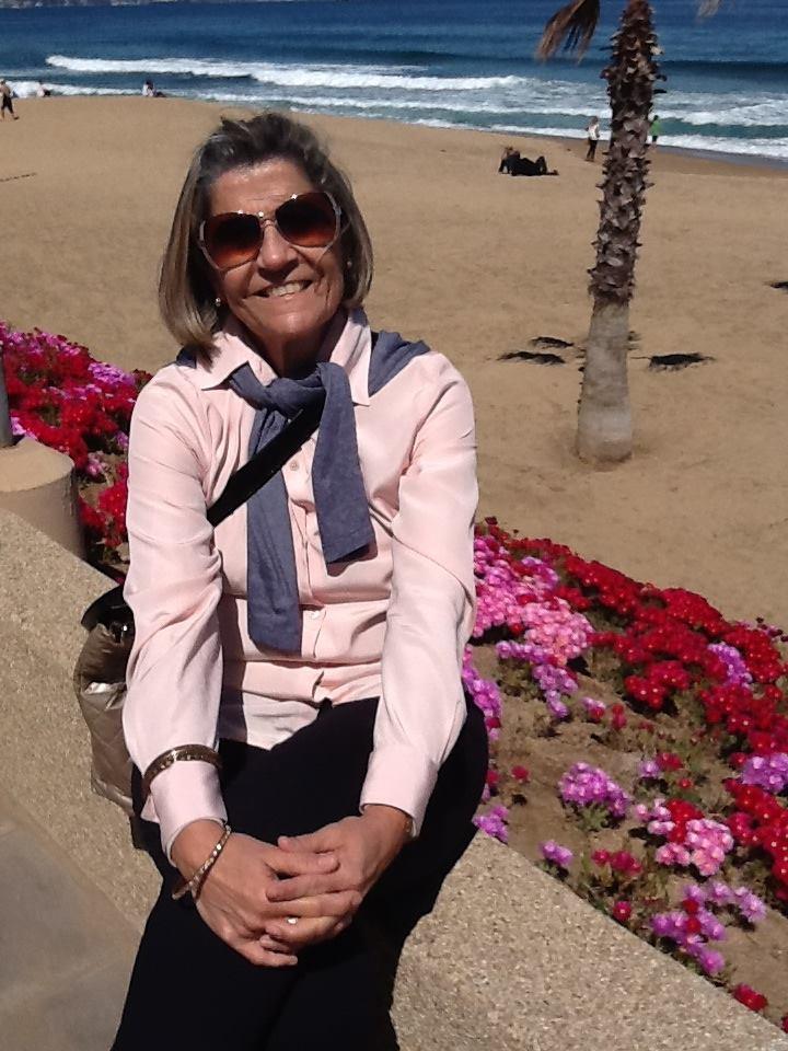 Doris Abrantes no Peru. Foto: divulgação