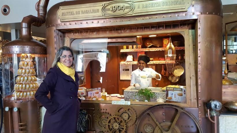Doris Abrantes em Portugal. Foto: divulgação